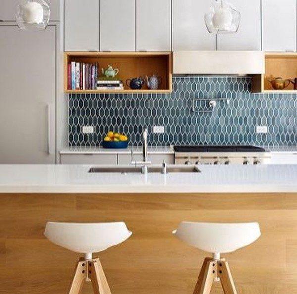 19 отличных способов отделки кафельной плиткой