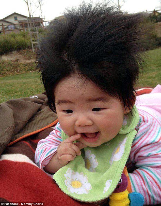 Китайские причёски для детей