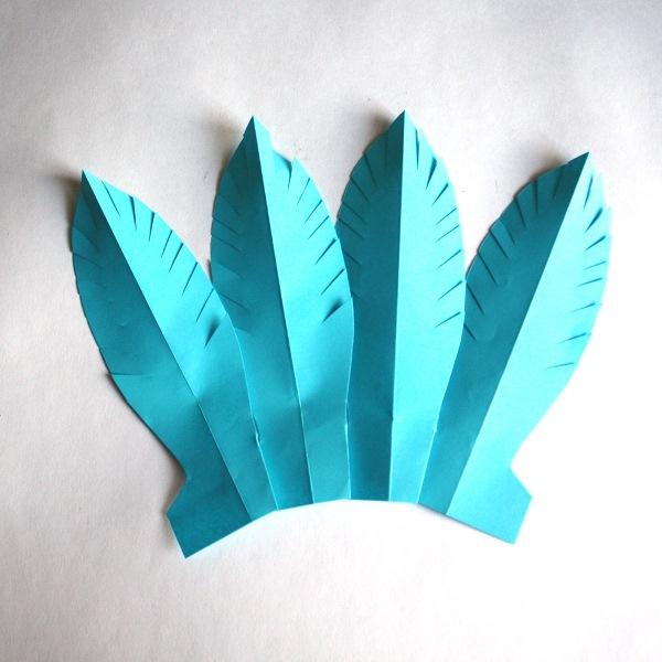 Перья для костюма индейца своими руками 55