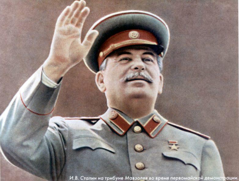 Интервью Иосифа Виссарионовича Сталина!