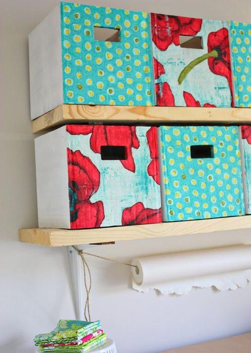 Как сделать коробку для хранения самому