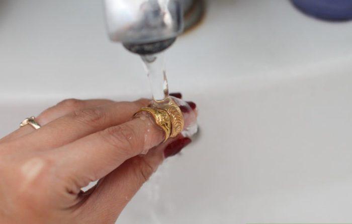 Как очищать золото в домашних условиях