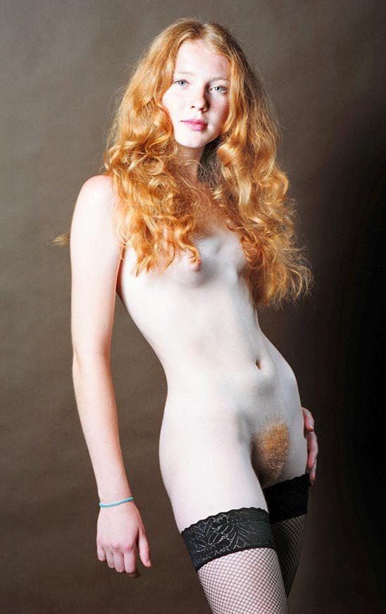 фото красивых сексуальных рыжих волосатых женщин