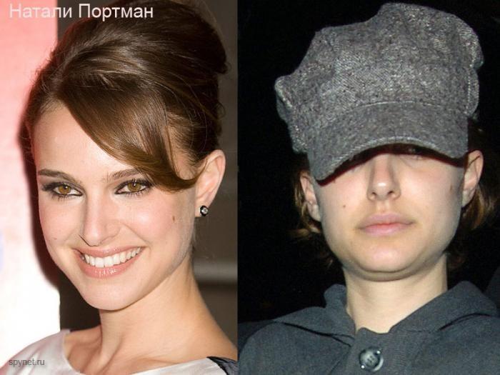 Натали Портман Без Макияжа И Фотошопа