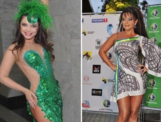 Платья звезд шоу бизнеса