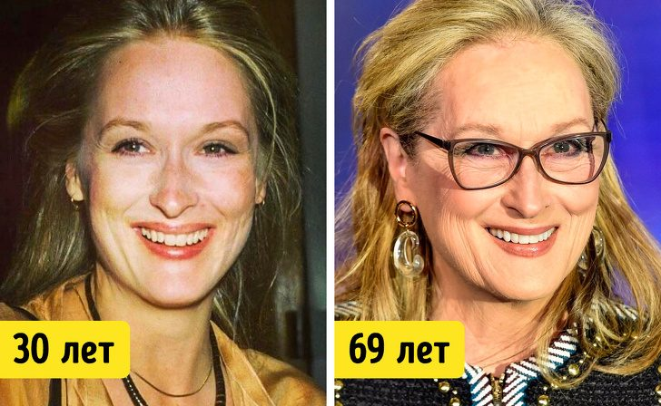 19 знаменитых женщин старше 50 лет, которые никогда не делали пластические операции