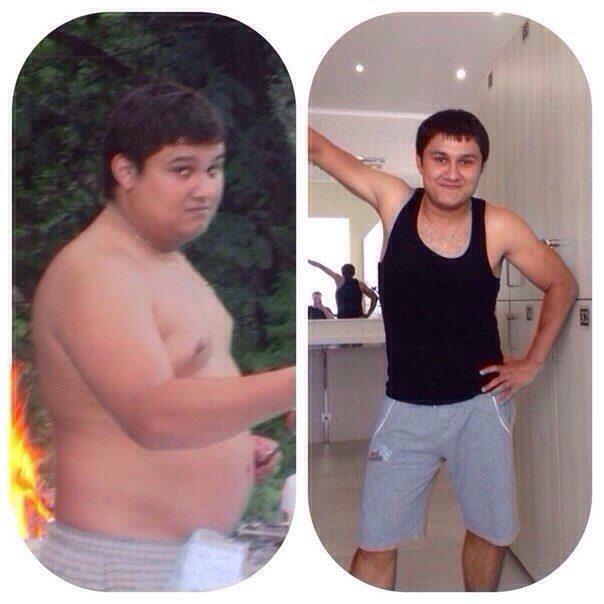 как похудели люди до и после телепередачи