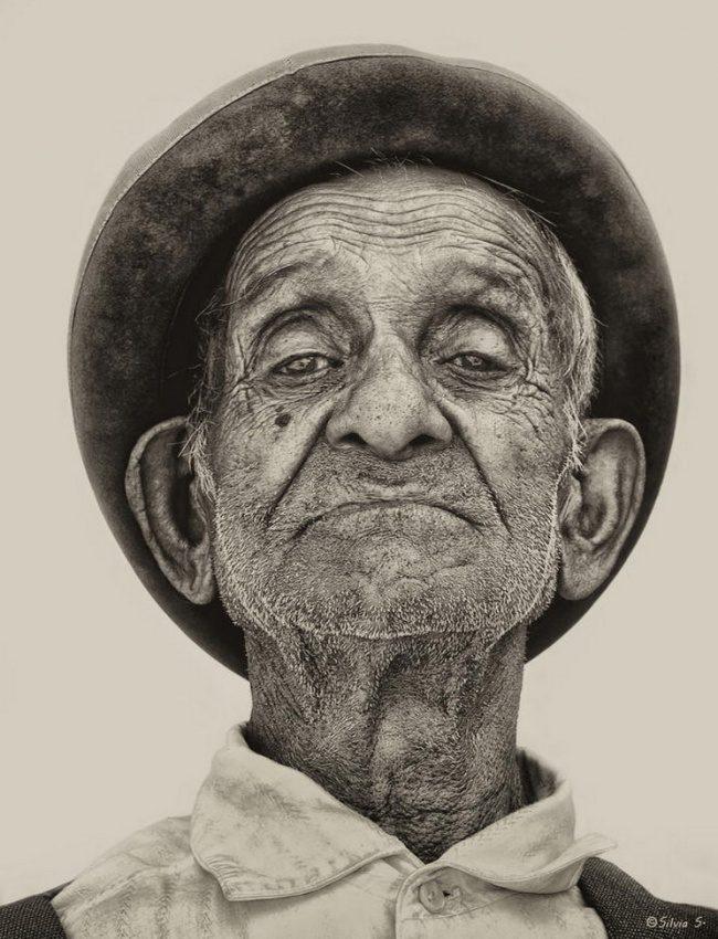 20 портретов, которым цвет не нужен