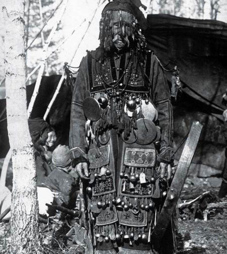 головной убор коряцкого шамана качестве