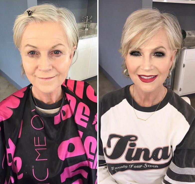 aa7df1d3dd Вот как макияж может изменить женщину до неузнаваемости