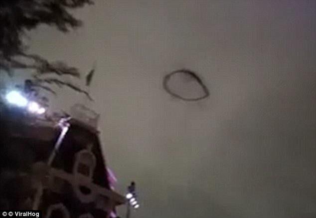 Что-то похожее на НЛО засняли в Великобритании
