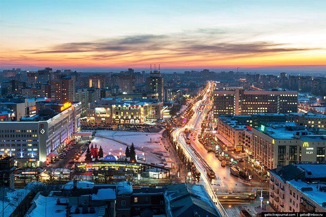 Картинки города перми зимой