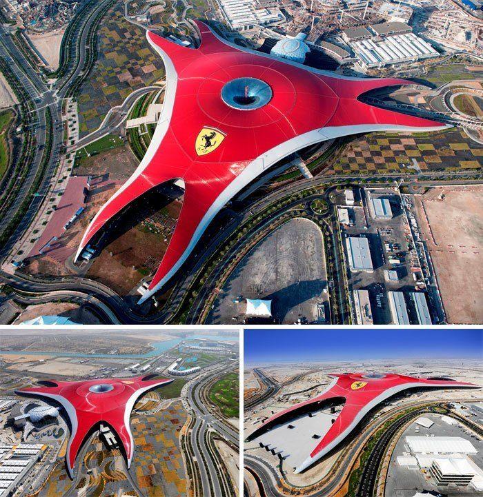 Архитектурный туризм: самые неземные постройки планеты. Часть 2