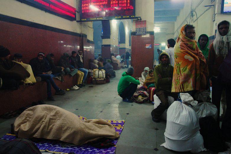 Российский турист делится впечатлениями от индийского вокзала