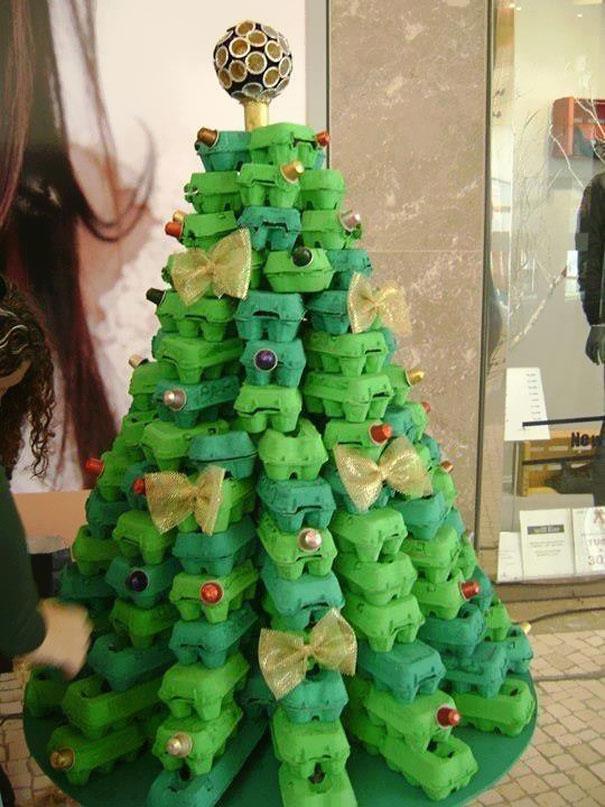Поделки своими руками новогодняя елка фото
