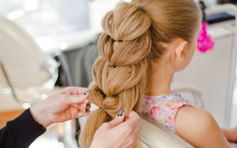 Косы прически для тонких волос для девочек