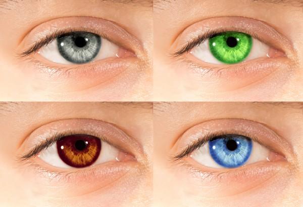 Цветные линзы для глаз россия
