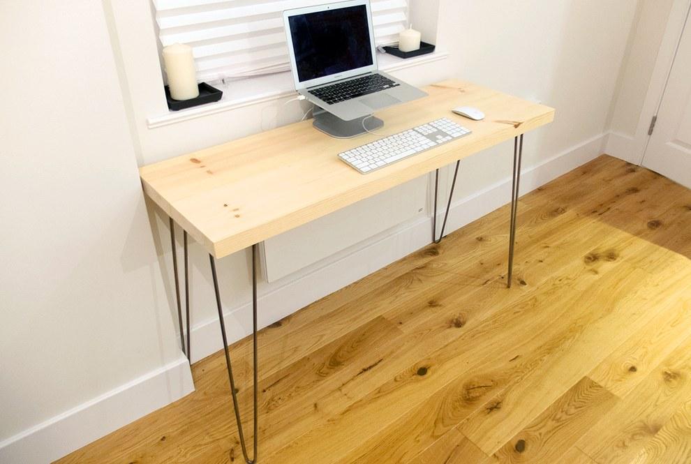 Из чего сделать письменный стол своими руками