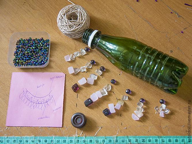 Бусины своими руками из пластиковых бутылок