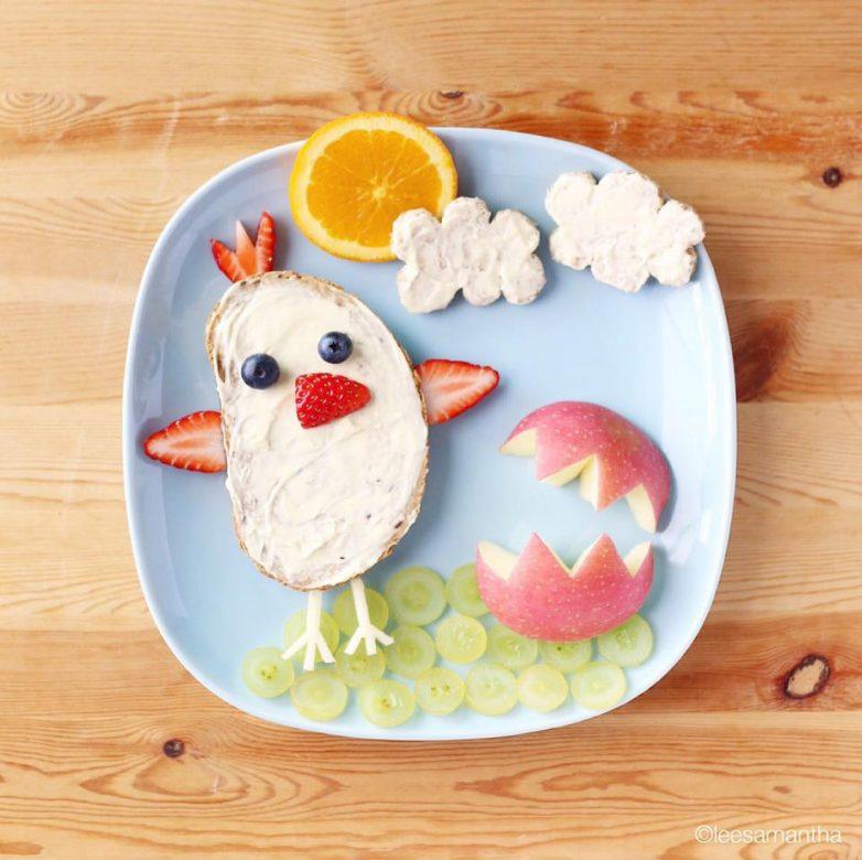 мультяшные еду про детские картинки