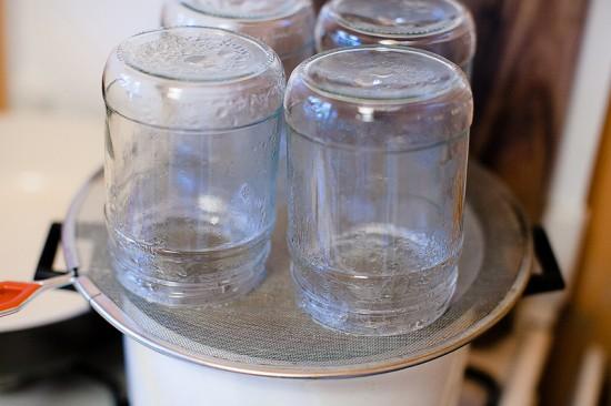 Стерилизация банок при консервировании
