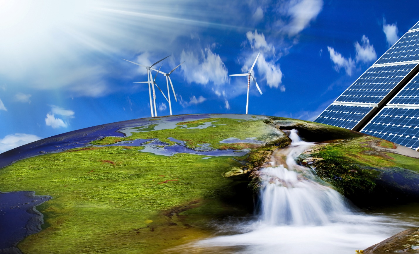 renewable souces of energy Renewable energy definition, any naturally occurring, theoretically inexhaustible source of energy, as biomass, solar, wind, tidal, wave, and hydroelectric power.