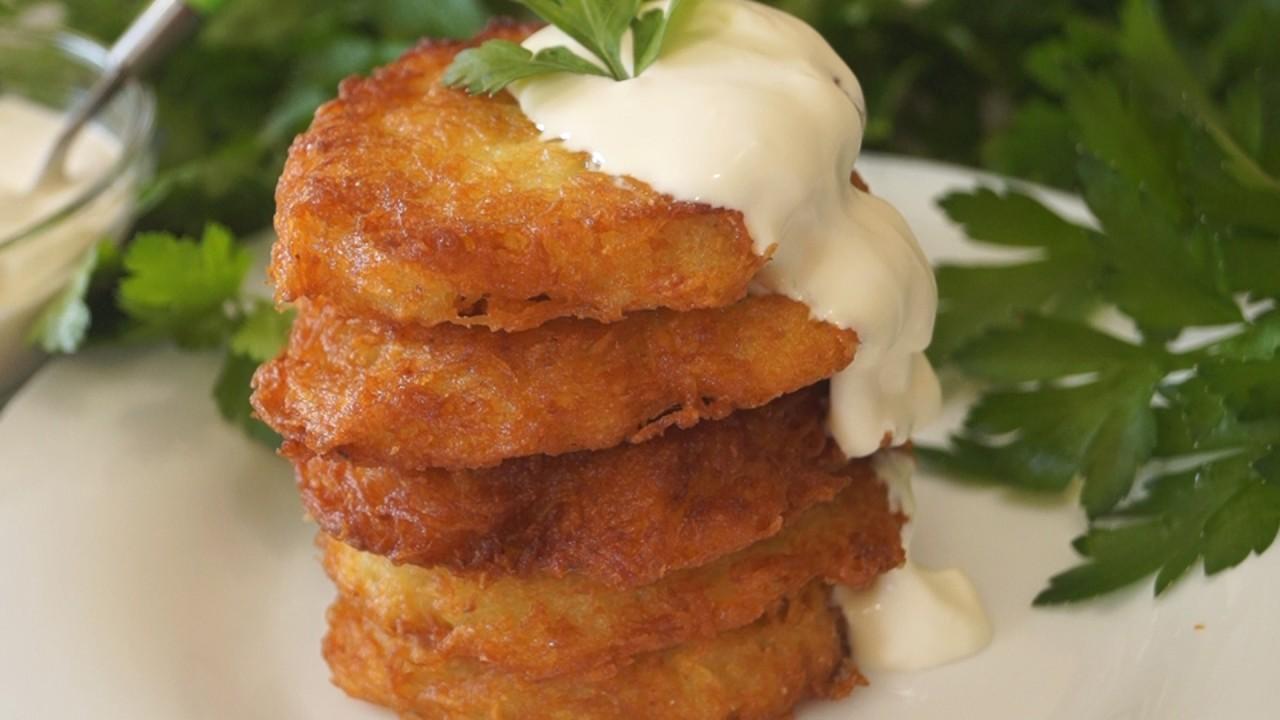 Драники картофельные рецепт пошаговый с фото на крупной терке