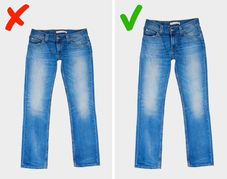 Ошибки при покупке джинсов, из-за которых они плохо сидят на вас