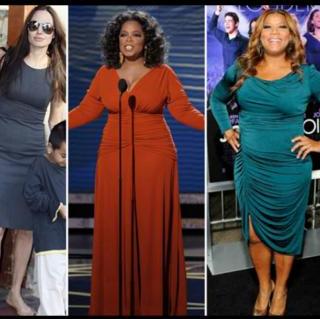 Как правильно подобрать одежду женщине с типом фигуры «яблоко»