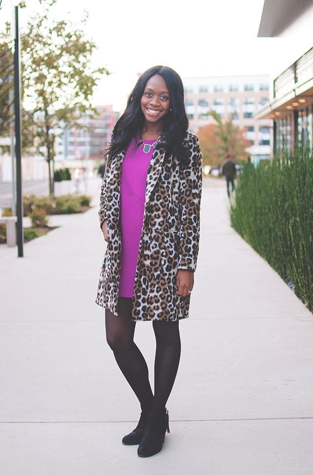 Как носить леопардовое пальто, чтобы всегда оставаться в центре внимания