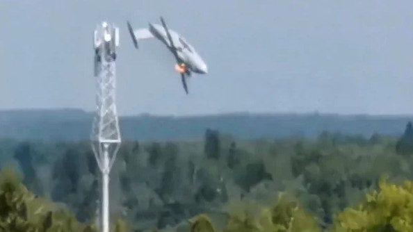 Установлены причины крушения нового военного самолета Ил-112В в Подмосковье