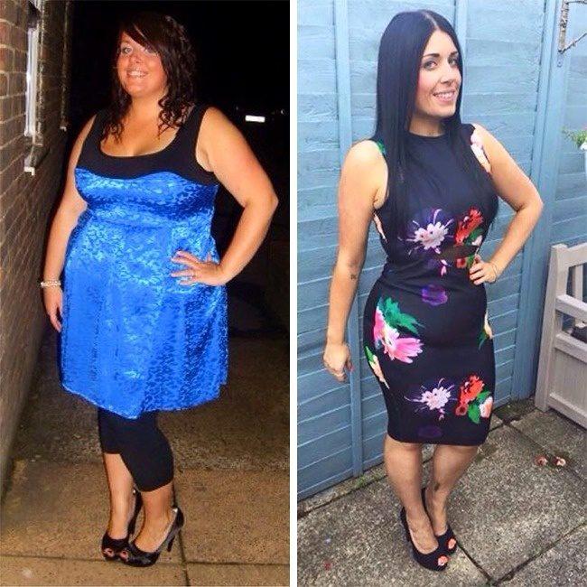 Примеры похудения видео