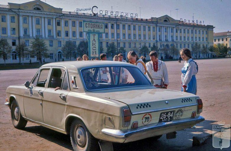 Фото машин такси кутузов
