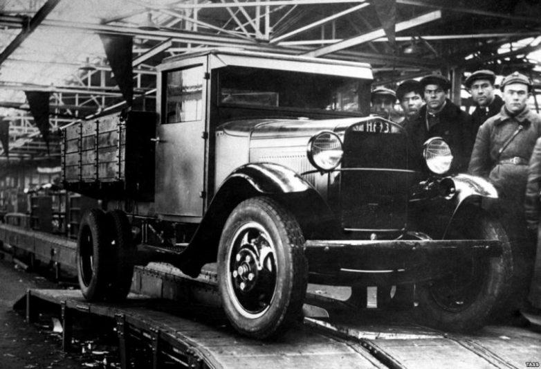 Первые авто конвейер сборка конвейер нива