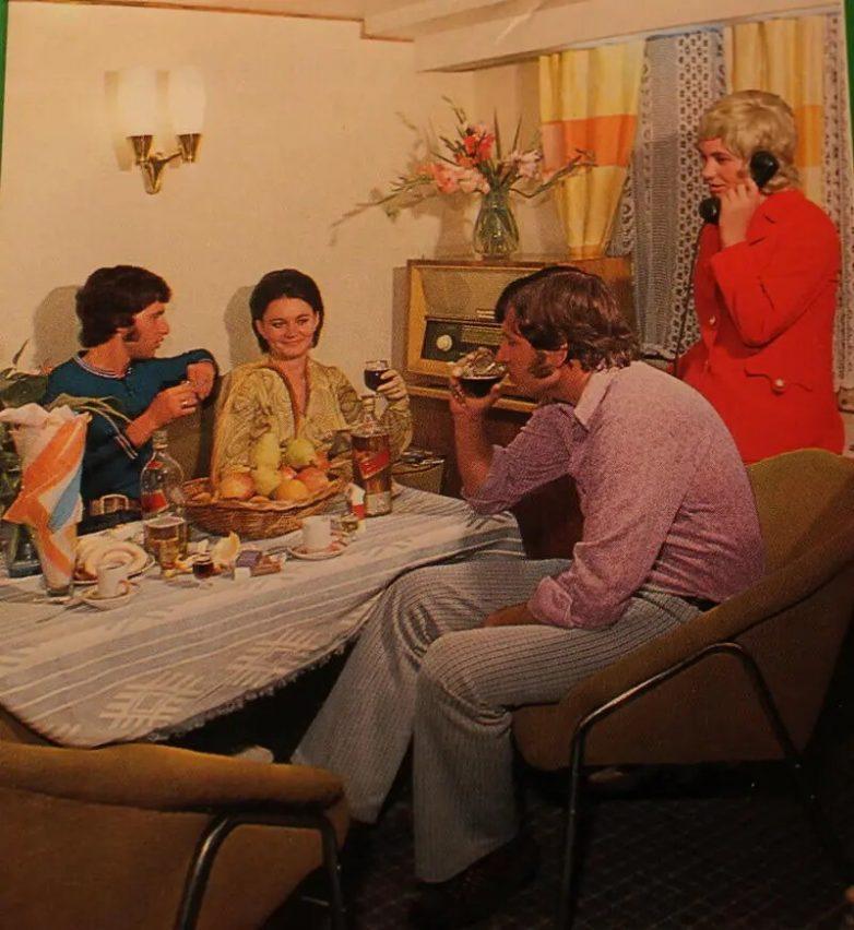 Круизный отдых во времена СССР