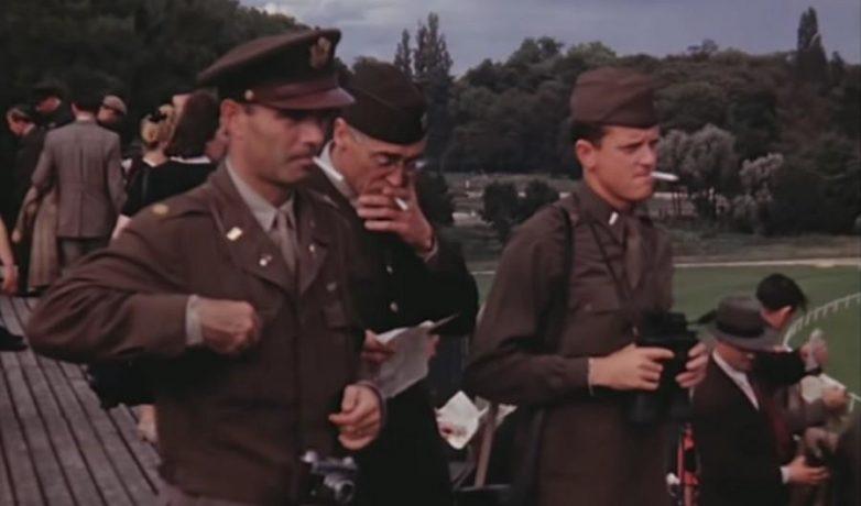 Американские военные в Германии. 1945-1946гг
