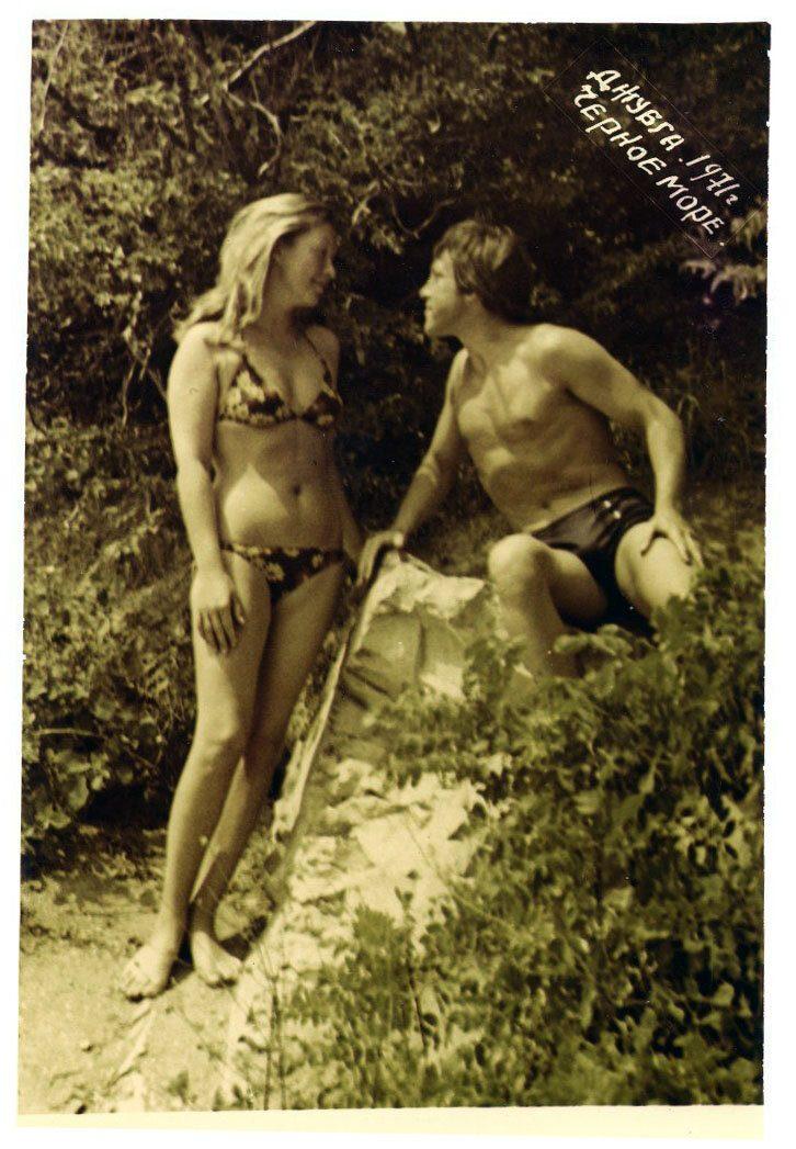 Владимир Высоцкий и Марина Влади, Джубга, 1971 год