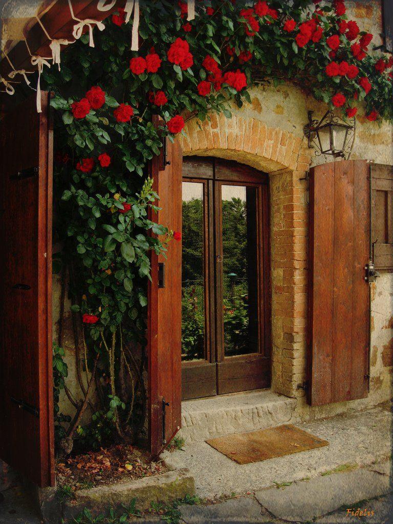 картинка двери в дом красивые люблю бывать