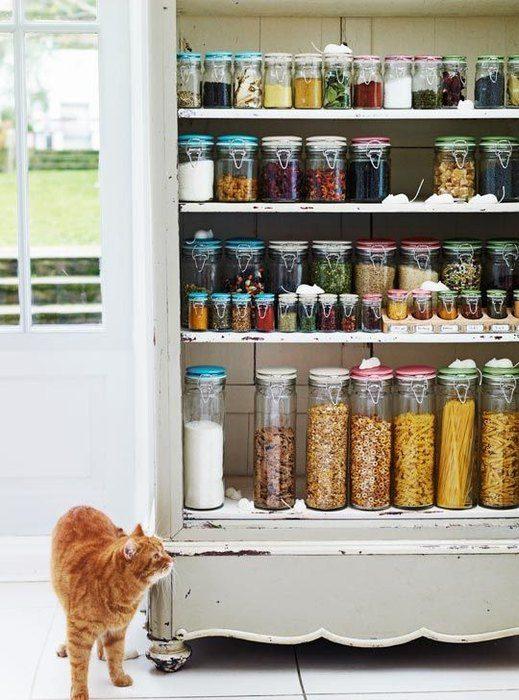 3bf5074016 Стильные и практичные системы хранения для кухни Фото