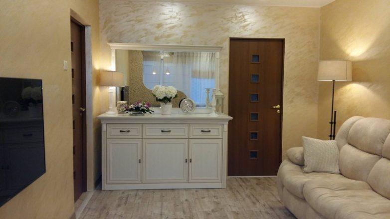 360678169d Ремонт большой комнаты в трешке Фото