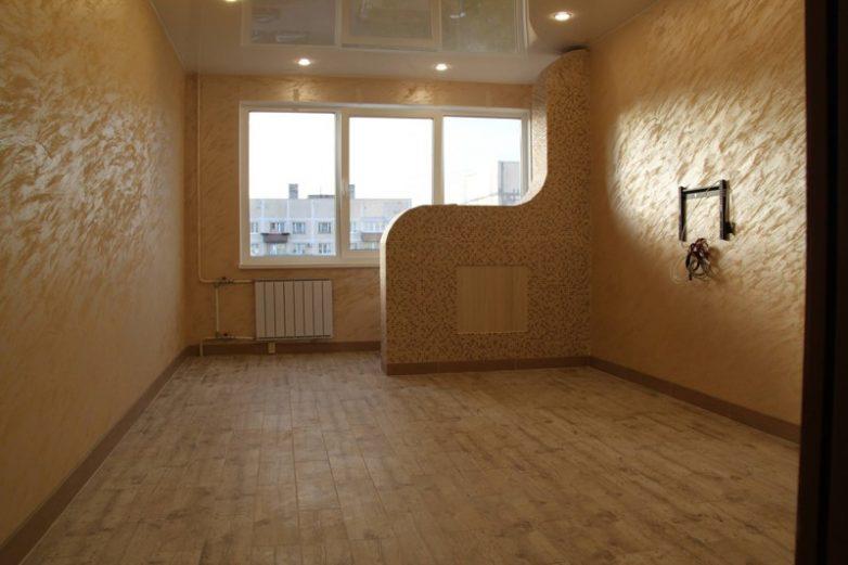 f31153b2bd Ремонт большой комнаты в трешке Фото