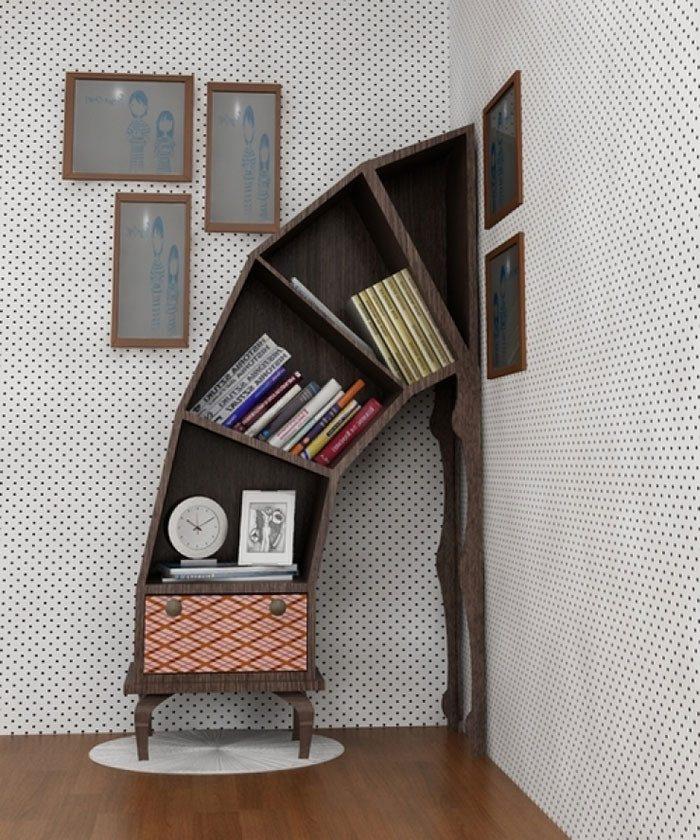 93194ba6a3 Самые необыкновенные книжные полки | Роскошь и уют Фото