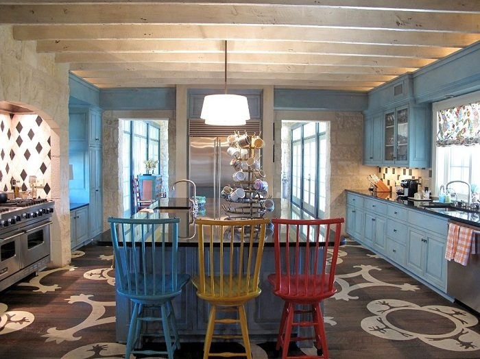 f80505f341 Подбираем цвета для кухонных шкафов Фото