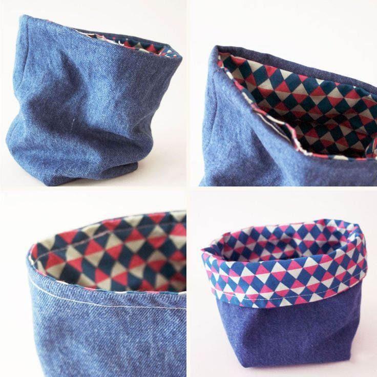 Креативные идеи из старых джинсов, которые вас поразят