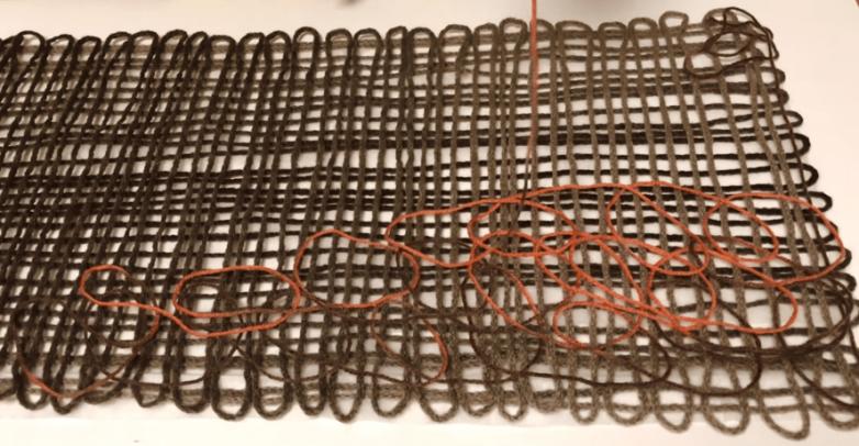 Нестандартное использование остатков ниток