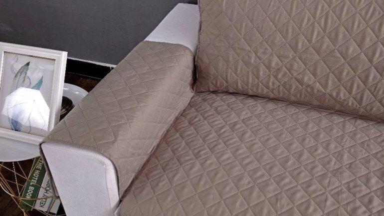 Съёмные чехлы для подлокотников дивана