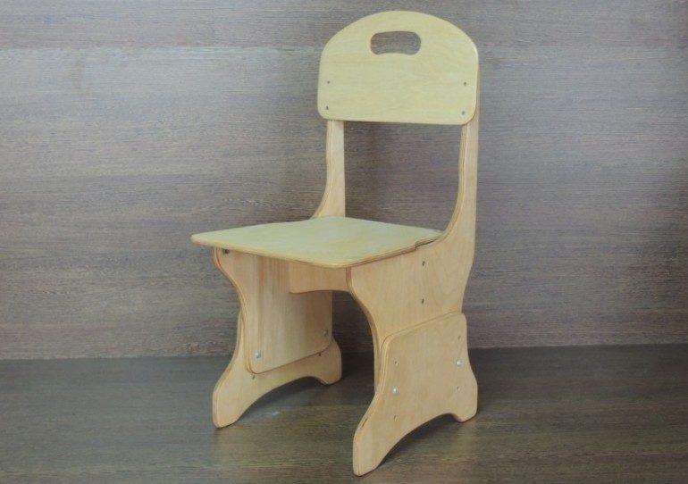 Детский стульчик из фанеры своими руками