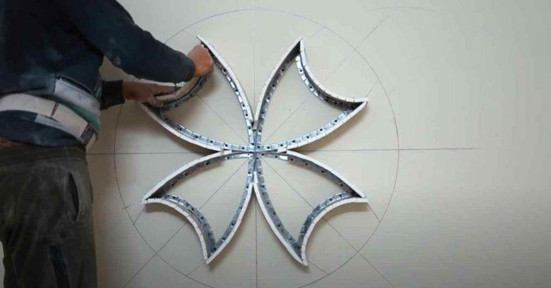 Оригинальный декор из гипсокартона
