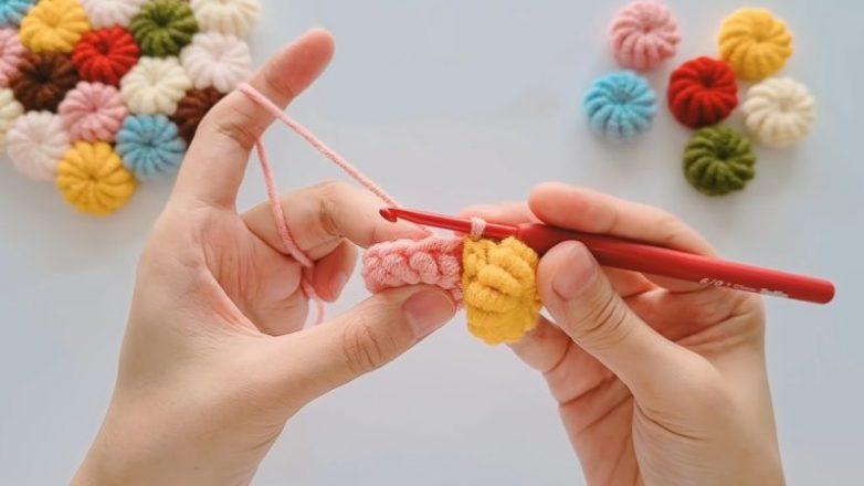 Необычная техника вязания крючком