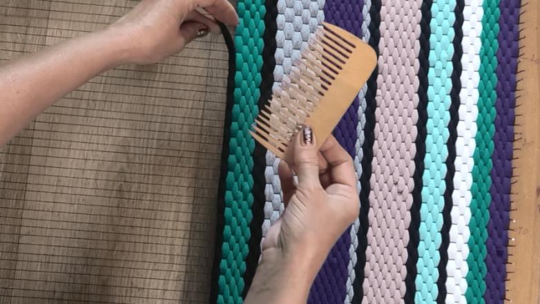 Коврик без шитья и вязания